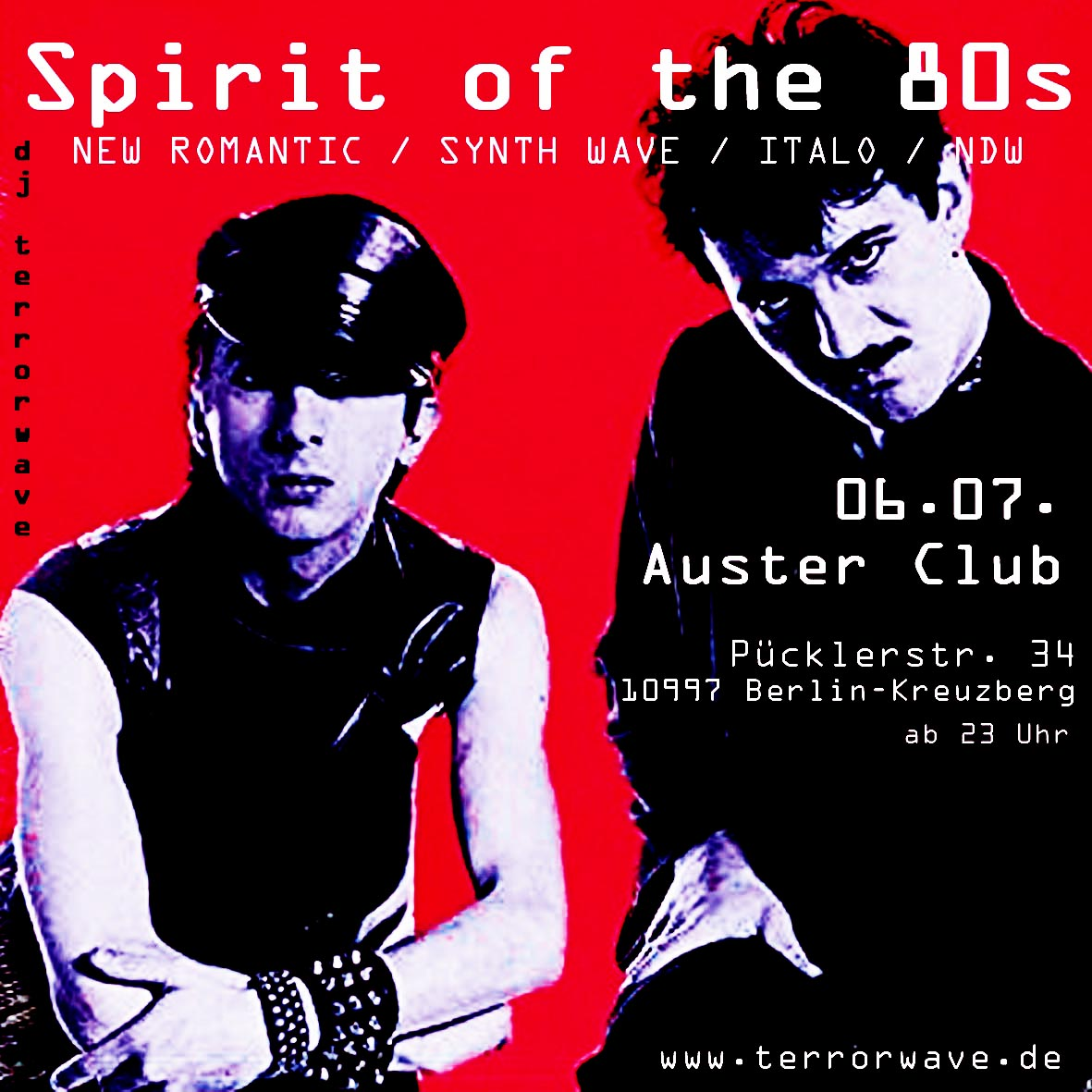 spirit of the 80s Juli